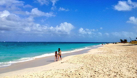 More than 1 million tourists visted the Turks and Caicos in 2013